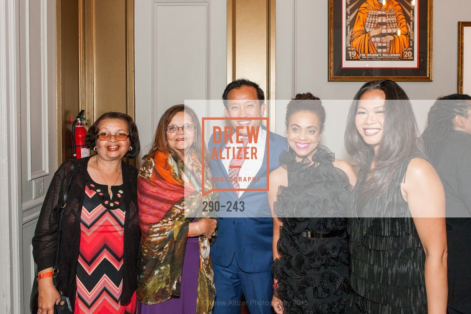 Josie Jordan, Loretta Wiley, David Chiu, Felicia Horowitz, Dori Caminong, 6TH ANNUAL GLIDE LEGACY GALA, The Regency Ballroom. 1300 Van Ness Ave, August 22nd, 2015,Drew Altizer, Drew Altizer Photography, full-service agency, private events, San Francisco photographer, photographer california