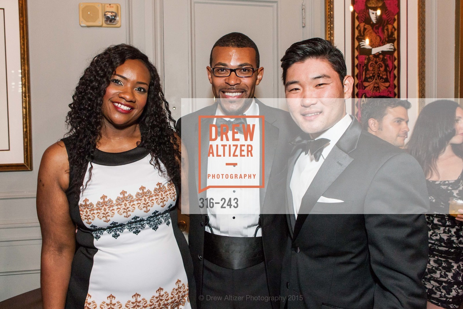 Cassandra Hill, Theon Johnson, Mike Kim, 6TH ANNUAL GLIDE LEGACY GALA, The Regency Ballroom. 1300 Van Ness Ave, August 22nd, 2015,Drew Altizer, Drew Altizer Photography, full-service agency, private events, San Francisco photographer, photographer california
