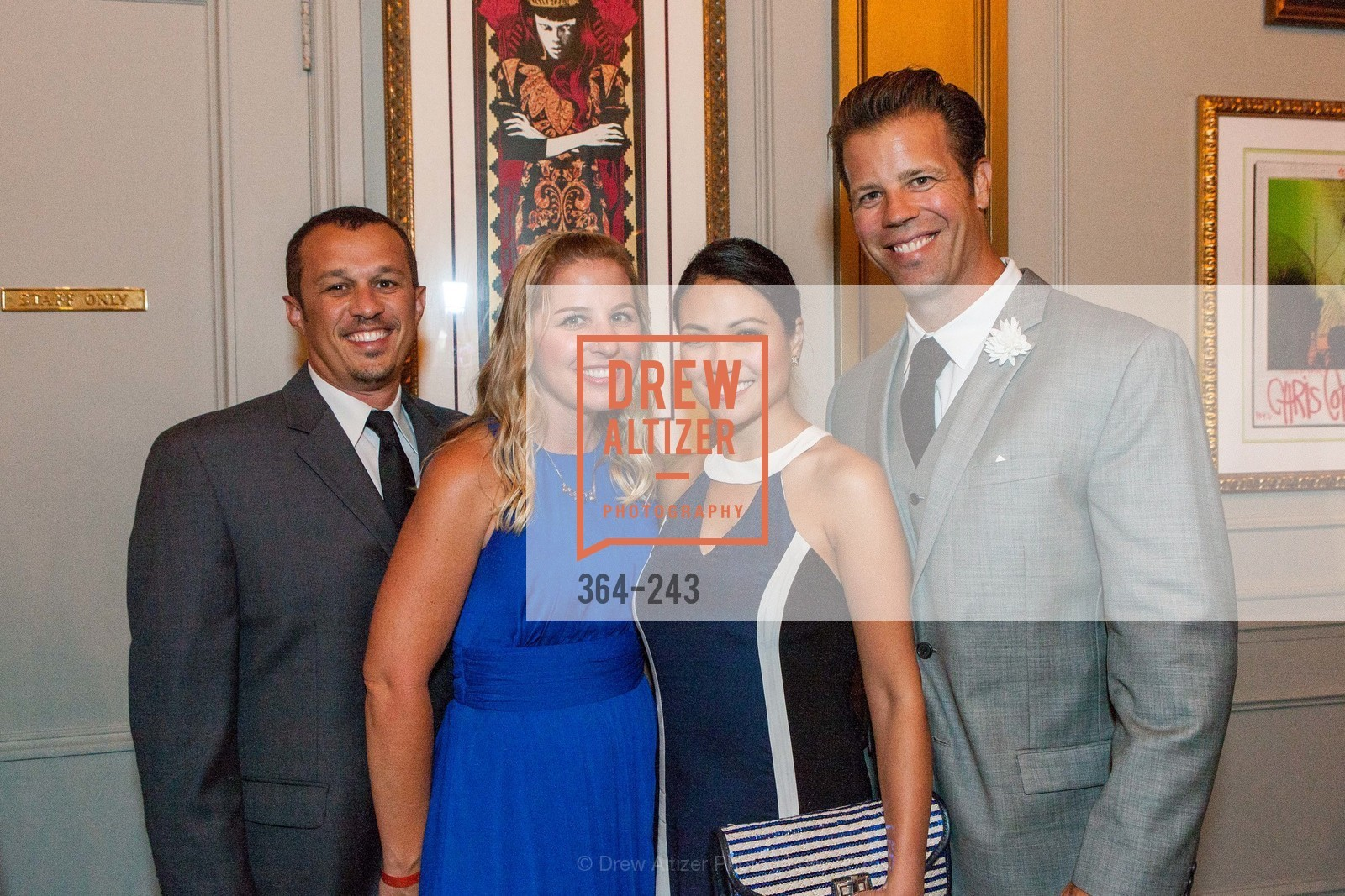 Eli Sills, Amanda Sills, Christine Lopez, Mark DeWeese, 6TH ANNUAL GLIDE LEGACY GALA, The Regency Ballroom. 1300 Van Ness Ave, August 22nd, 2015,Drew Altizer, Drew Altizer Photography, full-service agency, private events, San Francisco photographer, photographer california