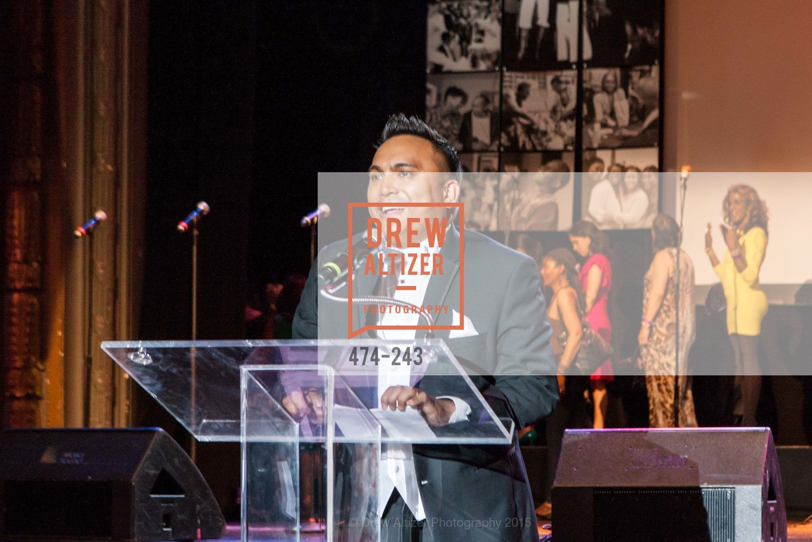 Franco Finn, 6TH ANNUAL GLIDE LEGACY GALA, The Regency Ballroom. 1300 Van Ness Ave, August 22nd, 2015,Drew Altizer, Drew Altizer Photography, full-service agency, private events, San Francisco photographer, photographer california