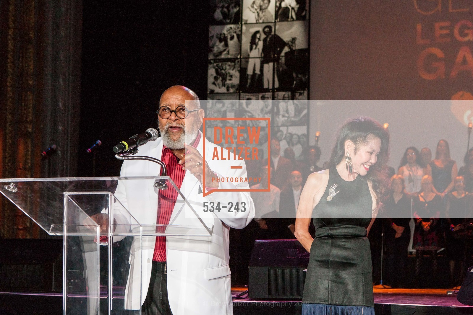 Cecil Williams, Janice Mirikitani, 6TH ANNUAL GLIDE LEGACY GALA, The Regency Ballroom. 1300 Van Ness Ave, August 22nd, 2015,Drew Altizer, Drew Altizer Photography, full-service agency, private events, San Francisco photographer, photographer california