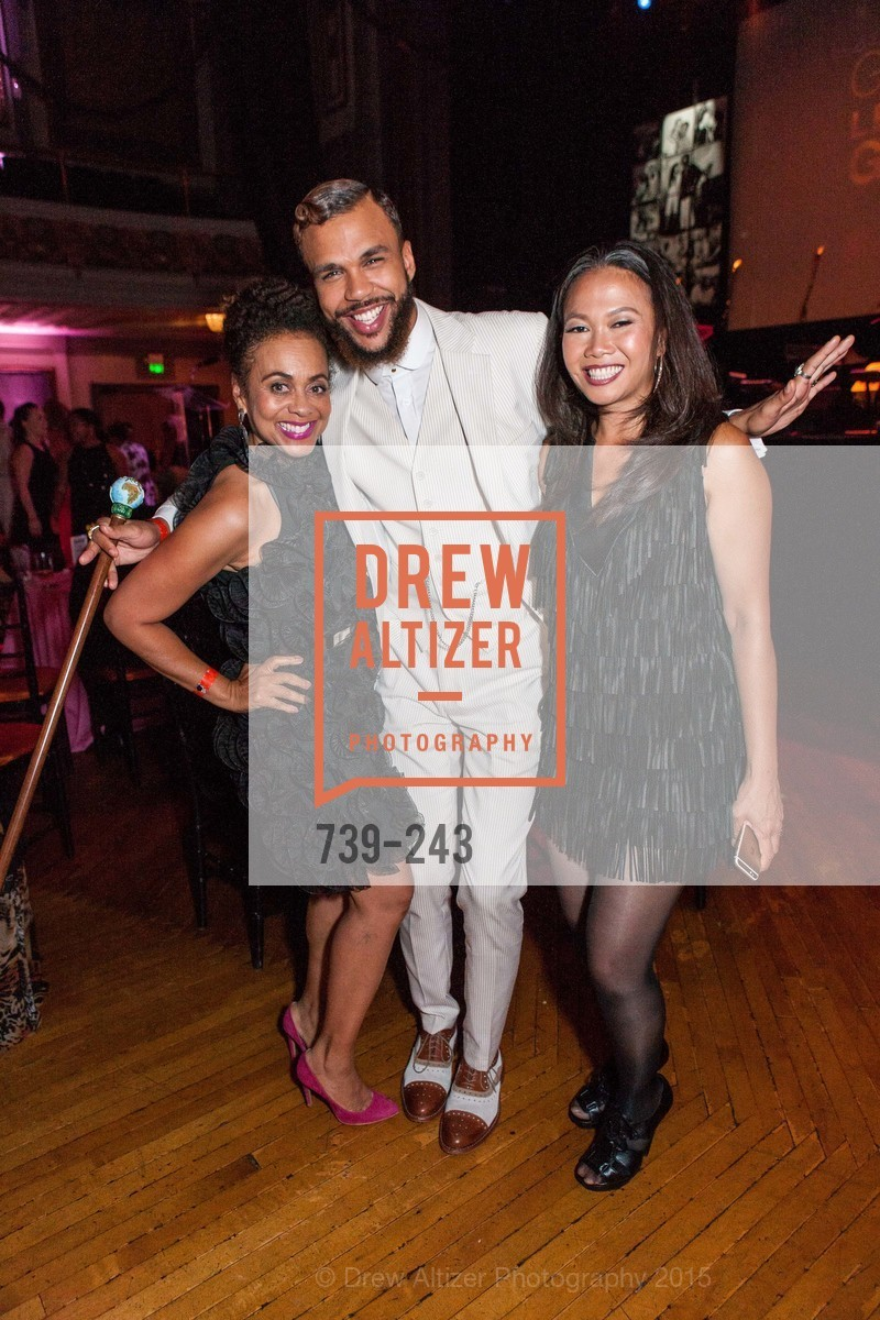 Felicia Horowitz, Jidenna, Dori Caminong, 6TH ANNUAL GLIDE LEGACY GALA, The Regency Ballroom. 1300 Van Ness Ave, August 22nd, 2015,Drew Altizer, Drew Altizer Photography, full-service agency, private events, San Francisco photographer, photographer california
