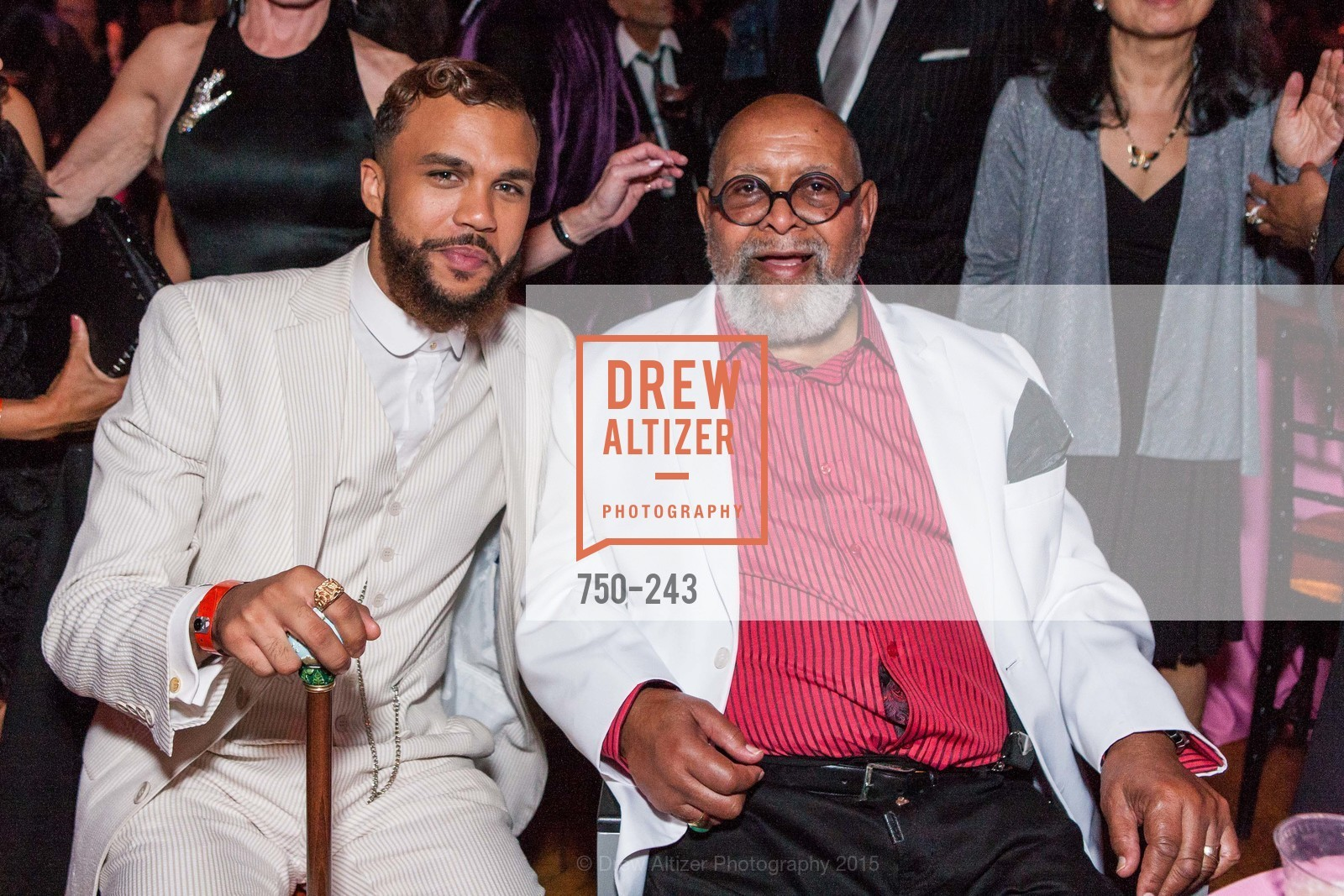 Ross Millie, Crickette Brown Glad, 6TH ANNUAL GLIDE LEGACY GALA, The Regency Ballroom. 1300 Van Ness Ave, August 22nd, 2015