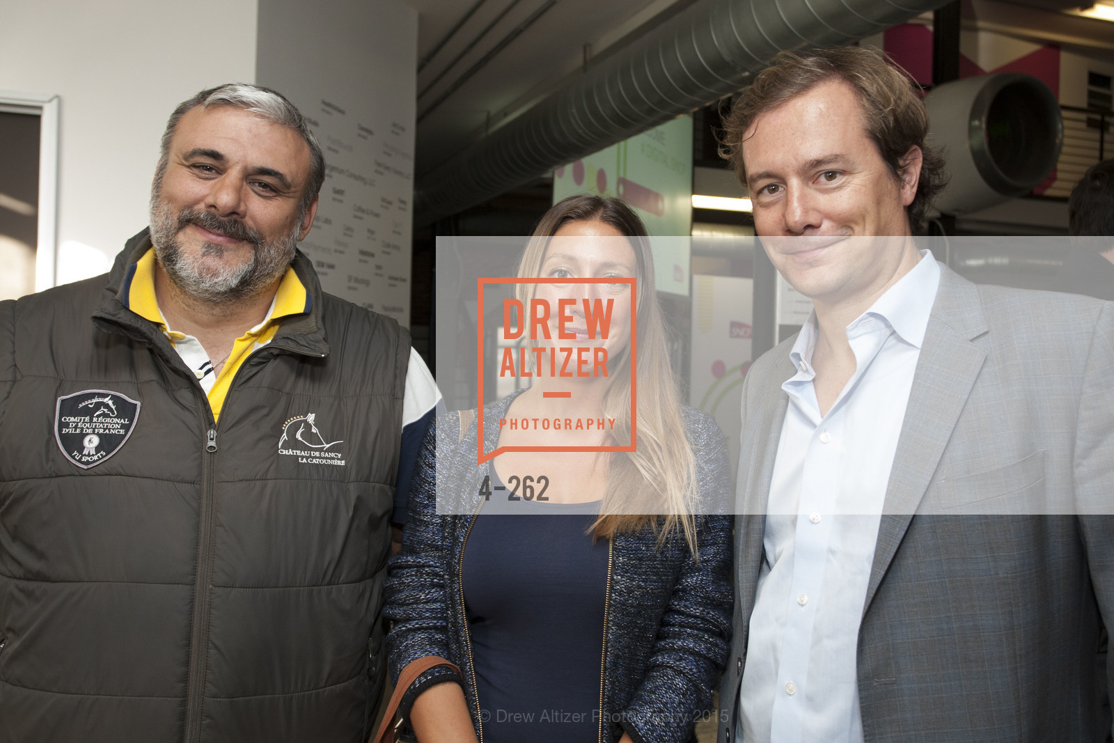 Christophe Goudy, Anne DeGenne, Thibaut Munier, Inauguration of SNCF Innovation Lab, 169 11th St, August 26th, 2015,Drew Altizer, Drew Altizer Photography, full-service agency, private events, San Francisco photographer, photographer california