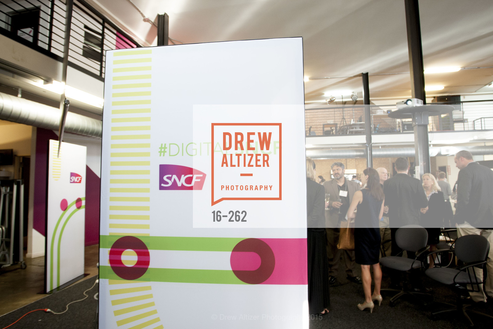 Atmosphere, Inauguration of SNCF Innovation Lab, 169 11th St, August 26th, 2015,Drew Altizer, Drew Altizer Photography, full-service agency, private events, San Francisco photographer, photographer california