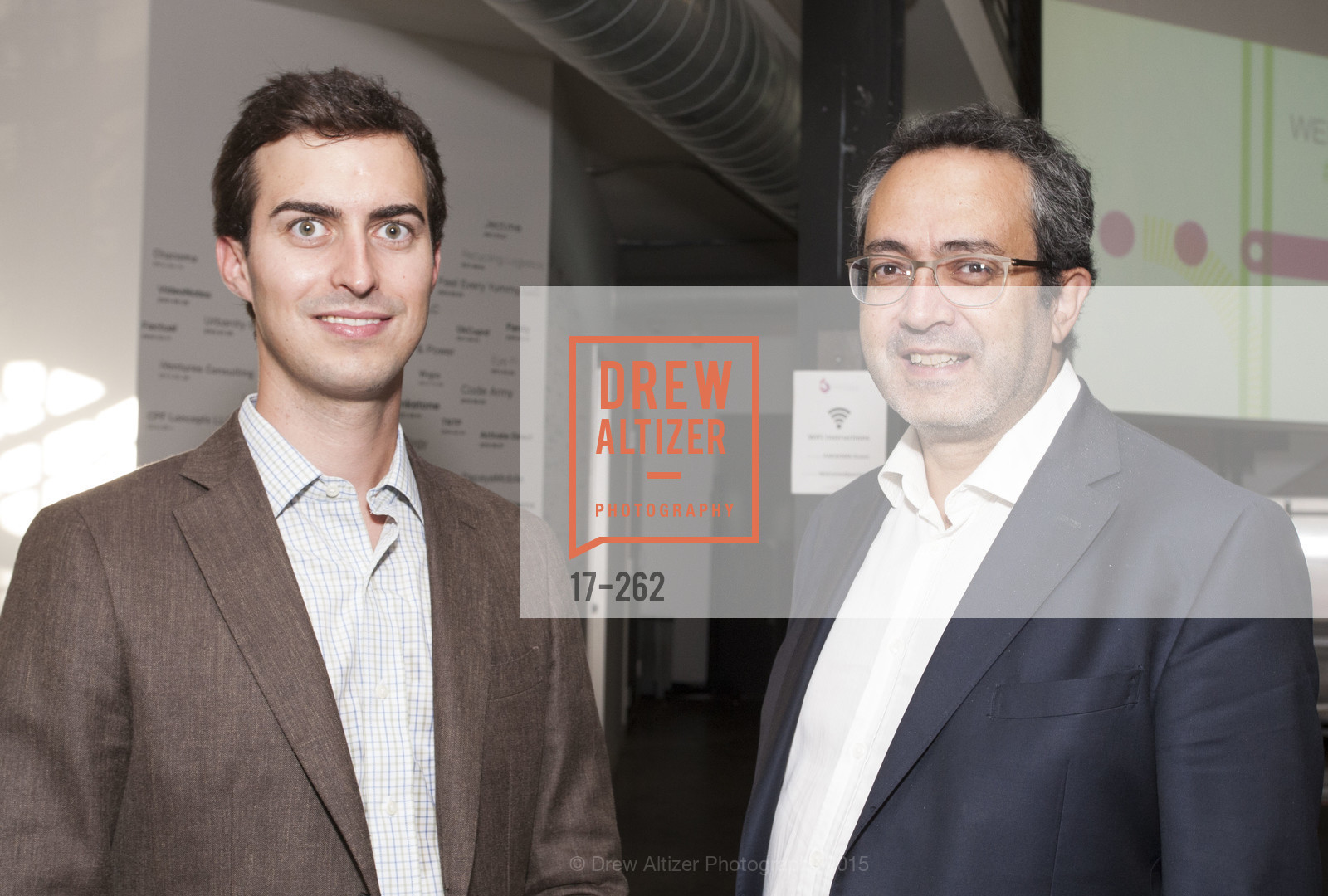 Maxime Dubois, Fred Ktorza, Inauguration of SNCF Innovation Lab, 169 11th St, August 26th, 2015,Drew Altizer, Drew Altizer Photography, full-service agency, private events, San Francisco photographer, photographer california