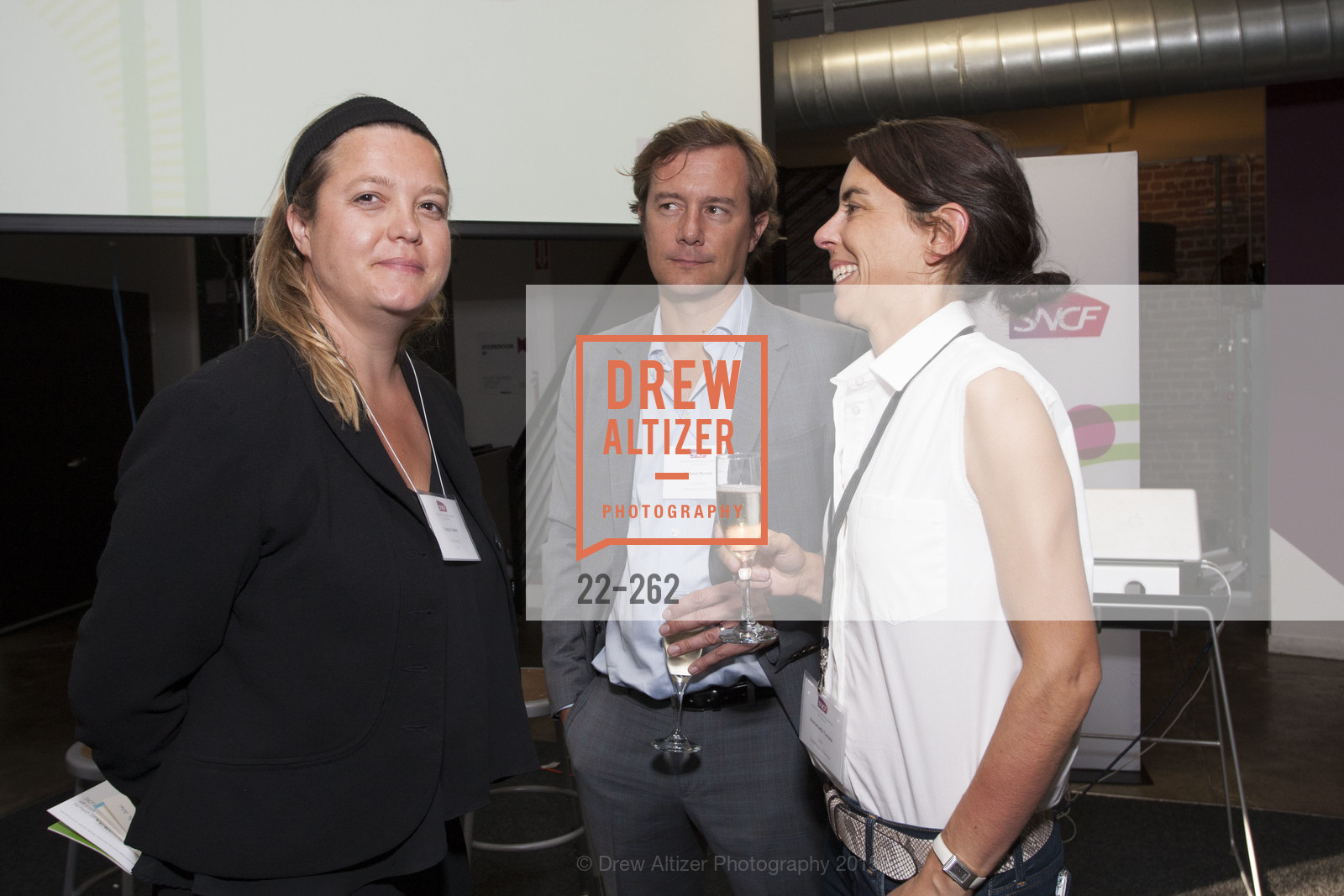 Yseulys Costes, Thibaut Munier, Emmanuelle Turlotte, Inauguration of SNCF Innovation Lab, 169 11th St, August 26th, 2015,Drew Altizer, Drew Altizer Photography, full-service agency, private events, San Francisco photographer, photographer california