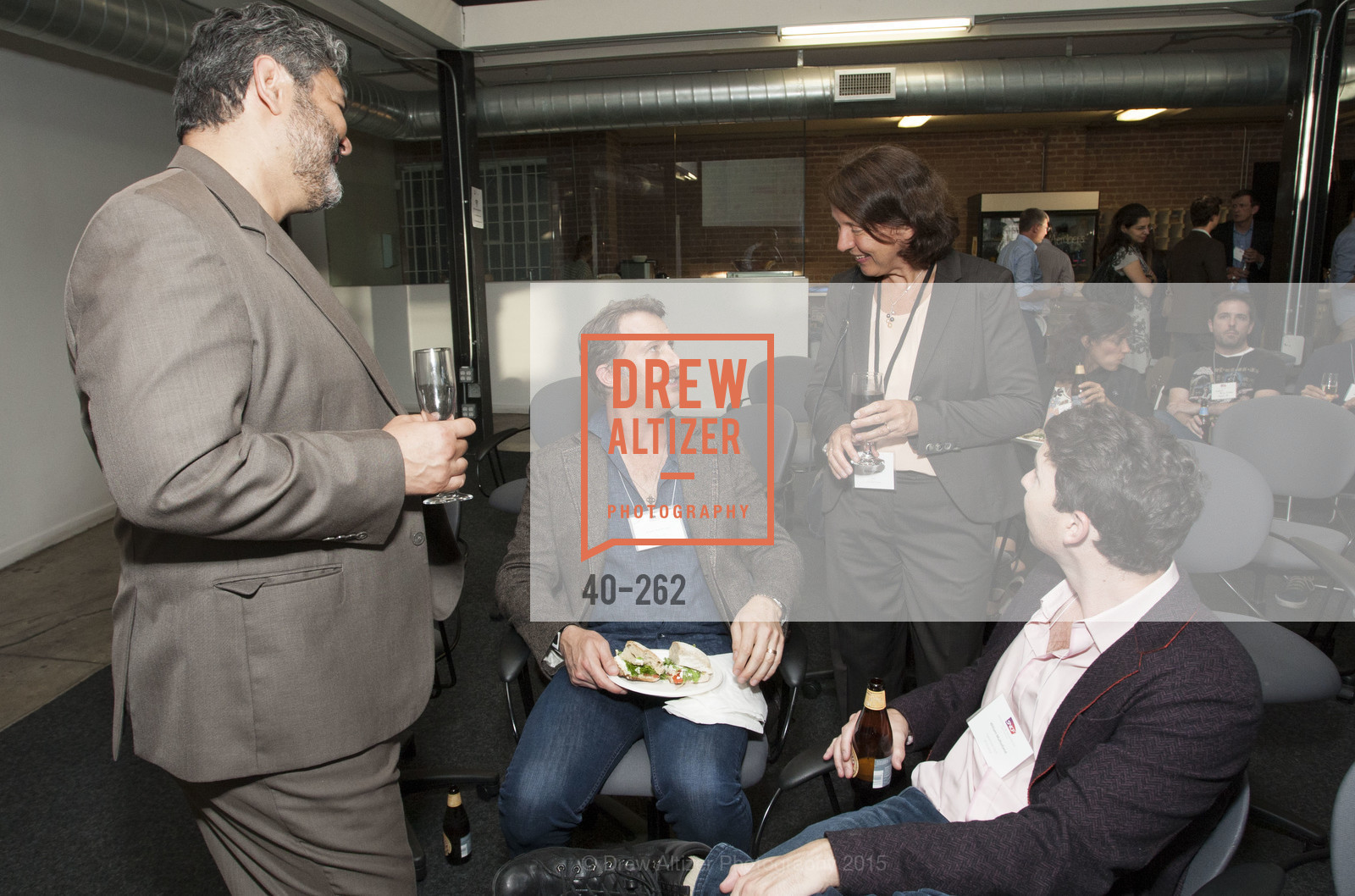 Afshin Pishevar, Brogan BamBrogan, Barbara Dalibard, William Mulholland, Inauguration of SNCF Innovation Lab, 169 11th St, August 26th, 2015,Drew Altizer, Drew Altizer Photography, full-service agency, private events, San Francisco photographer, photographer california