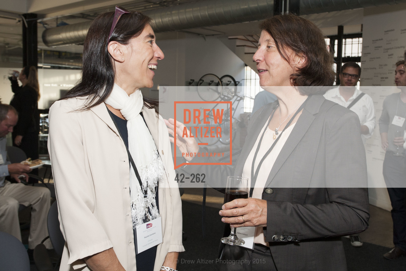 Pauline Carmona, Barbara Dalibard, Inauguration of SNCF Innovation Lab, 169 11th St, August 26th, 2015,Drew Altizer, Drew Altizer Photography, full-service agency, private events, San Francisco photographer, photographer california
