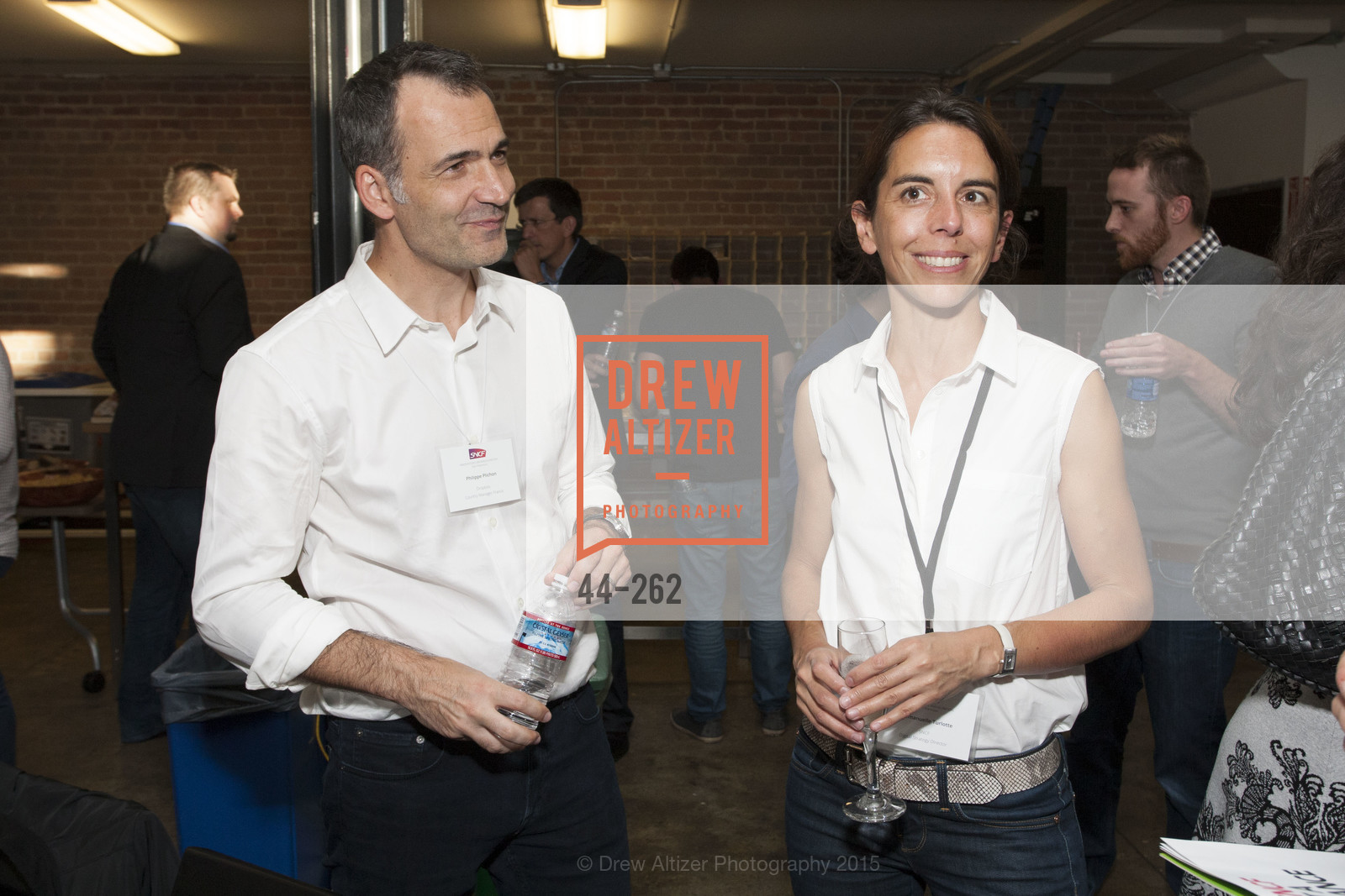 Philippe Plichon, Emmanuelle Turlotte, Inauguration of SNCF Innovation Lab, 169 11th St, August 26th, 2015,Drew Altizer, Drew Altizer Photography, full-service agency, private events, San Francisco photographer, photographer california