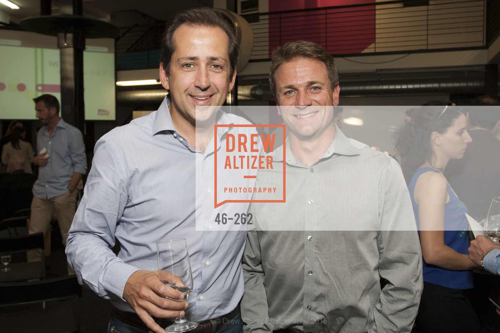 Fred Laluyaux, Guillaume Arnaud, Inauguration of SNCF Innovation Lab, 169 11th St, August 26th, 2015,Drew Altizer, Drew Altizer Photography, full-service agency, private events, San Francisco photographer, photographer california