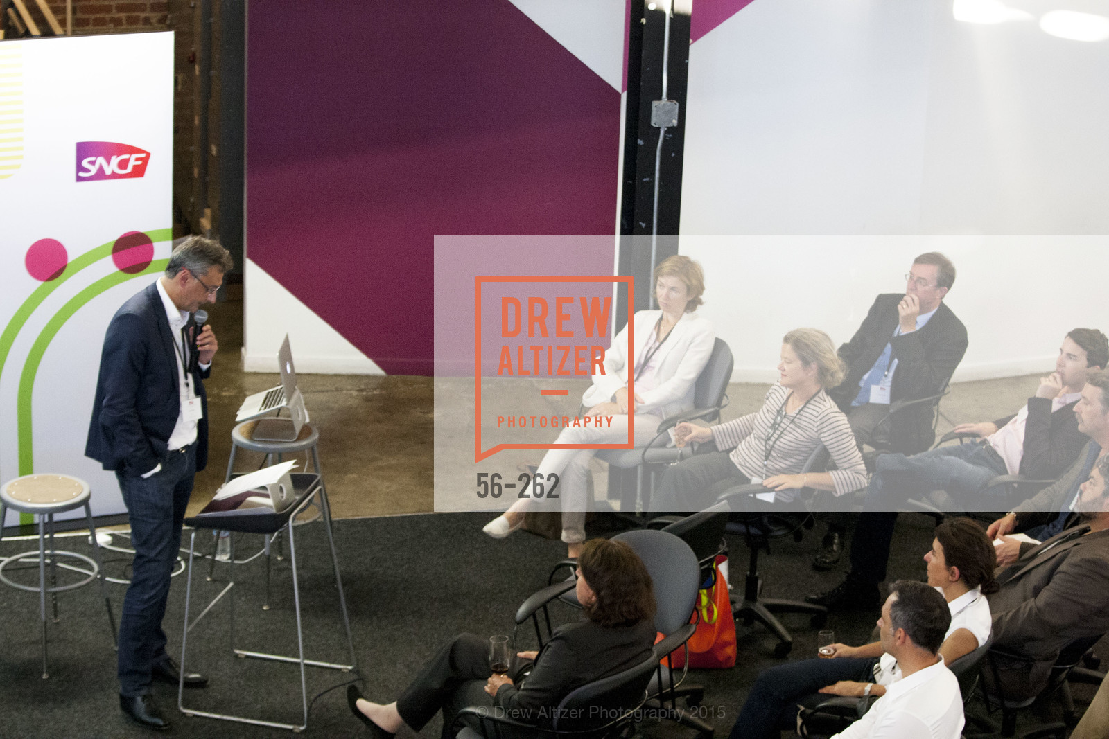 Yves Tyrode, Inauguration of SNCF Innovation Lab, 169 11th St, August 26th, 2015,Drew Altizer, Drew Altizer Photography, full-service event agency, private events, San Francisco photographer, photographer California