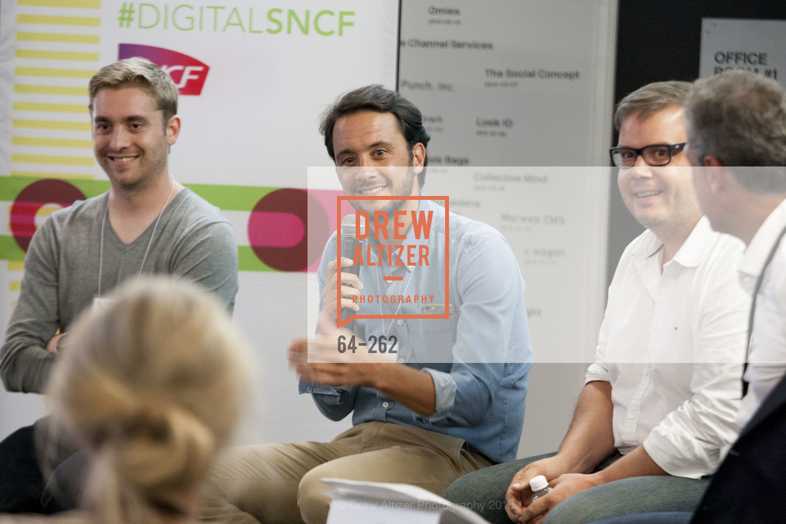 Baptiste Manson, Florent Peyre, Gregory Renard, Inauguration of SNCF Innovation Lab, 169 11th St, August 26th, 2015,Drew Altizer, Drew Altizer Photography, full-service agency, private events, San Francisco photographer, photographer california