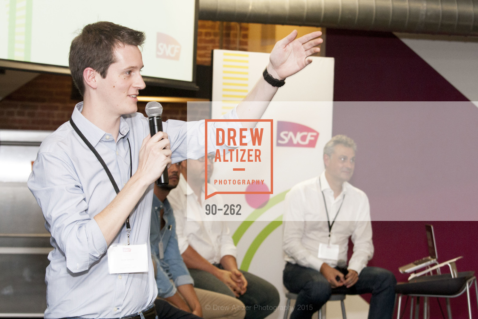 Kevin Smouts, Inauguration of SNCF Innovation Lab, 169 11th St, August 26th, 2015,Drew Altizer, Drew Altizer Photography, full-service agency, private events, San Francisco photographer, photographer california