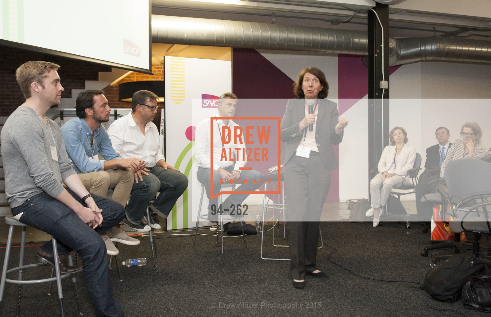 Barbara Dalibard, Inauguration of SNCF Innovation Lab, 169 11th St, August 26th, 2015,Drew Altizer, Drew Altizer Photography, full-service agency, private events, San Francisco photographer, photographer california