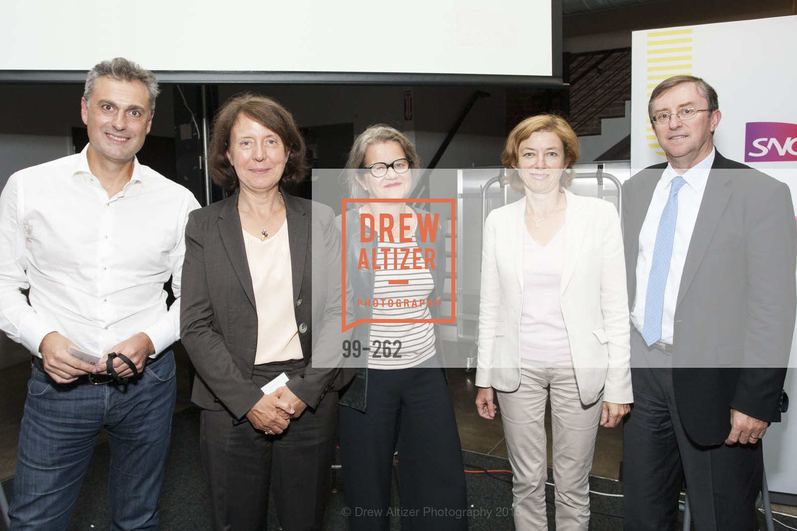 Yves Tyrode, Barbara Dalibard, Benedicte Tilloy, Florence Parly, Pierre Izard, Inauguration of SNCF Innovation Lab, 169 11th St, August 26th, 2015,Drew Altizer, Drew Altizer Photography, full-service agency, private events, San Francisco photographer, photographer california