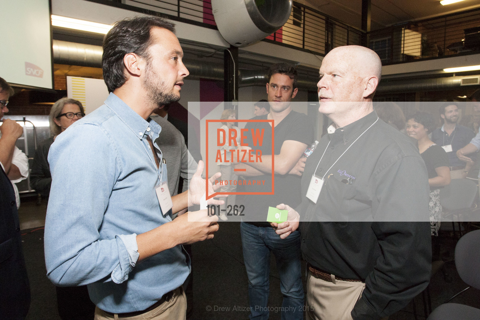 Florent Peyre, Frank Burkeen, Inauguration of SNCF Innovation Lab, 169 11th St, August 26th, 2015,Drew Altizer, Drew Altizer Photography, full-service agency, private events, San Francisco photographer, photographer california