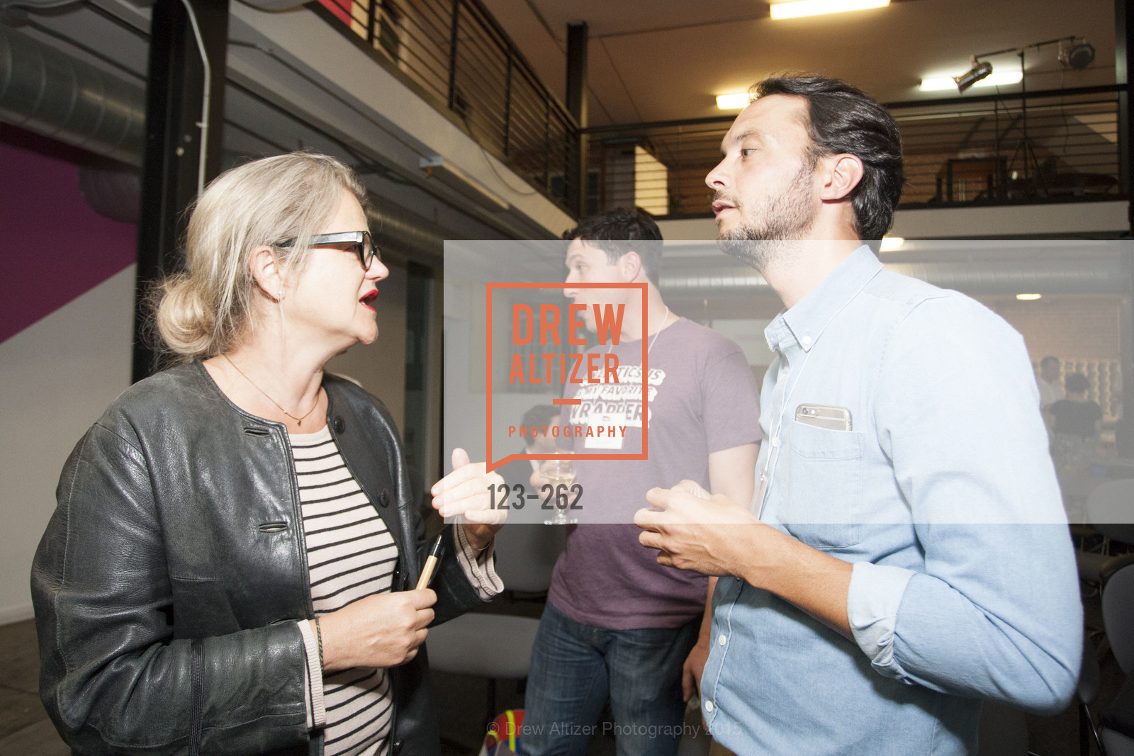 Benedicte Tilloy, Florent Peyre, Inauguration of SNCF Innovation Lab, 169 11th St, August 26th, 2015,Drew Altizer, Drew Altizer Photography, full-service agency, private events, San Francisco photographer, photographer california