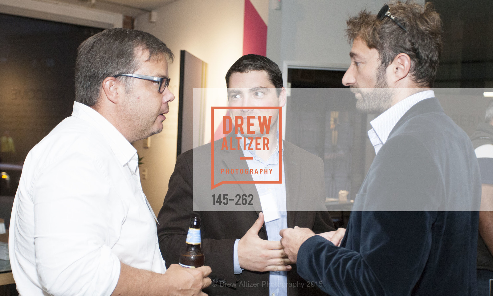 Gregory Renard, Guillaume Poissonnier, Inauguration of SNCF Innovation Lab, 169 11th St, August 26th, 2015,Drew Altizer, Drew Altizer Photography, full-service agency, private events, San Francisco photographer, photographer california