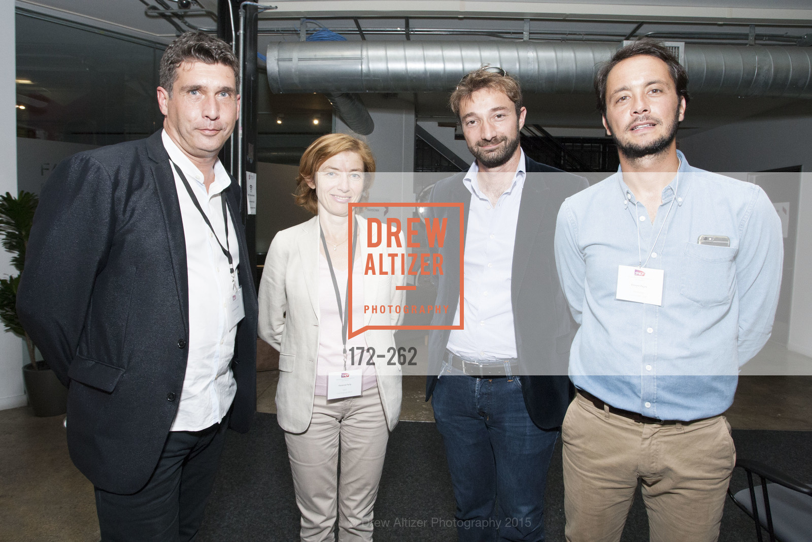 Dominique Piotet, Florence Parly, Florent Peyre, Inauguration of SNCF Innovation Lab, 169 11th St, August 26th, 2015,Drew Altizer, Drew Altizer Photography, full-service agency, private events, San Francisco photographer, photographer california