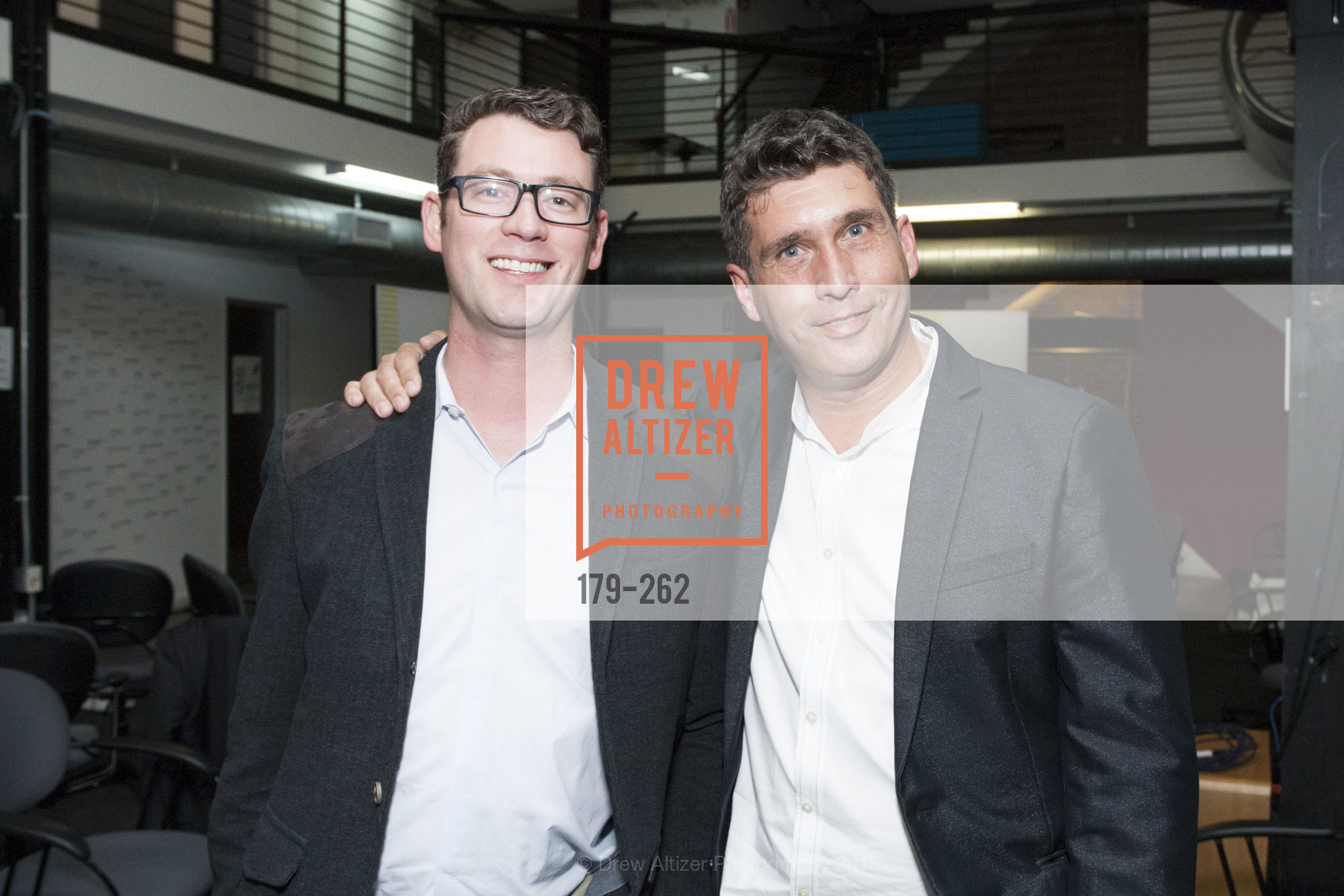 Jeff Michels, Dominique Piotet, Inauguration of SNCF Innovation Lab, 169 11th St, August 26th, 2015,Drew Altizer, Drew Altizer Photography, full-service agency, private events, San Francisco photographer, photographer california