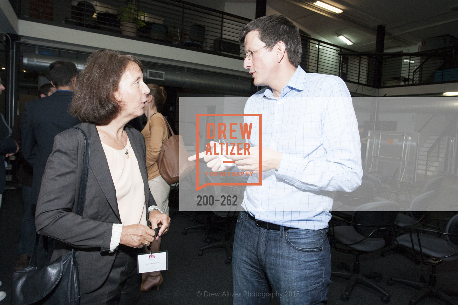 Barbara Dalibard, Vincent Delamarre, Inauguration of SNCF Innovation Lab, 169 11th St, August 26th, 2015,Drew Altizer, Drew Altizer Photography, full-service agency, private events, San Francisco photographer, photographer california