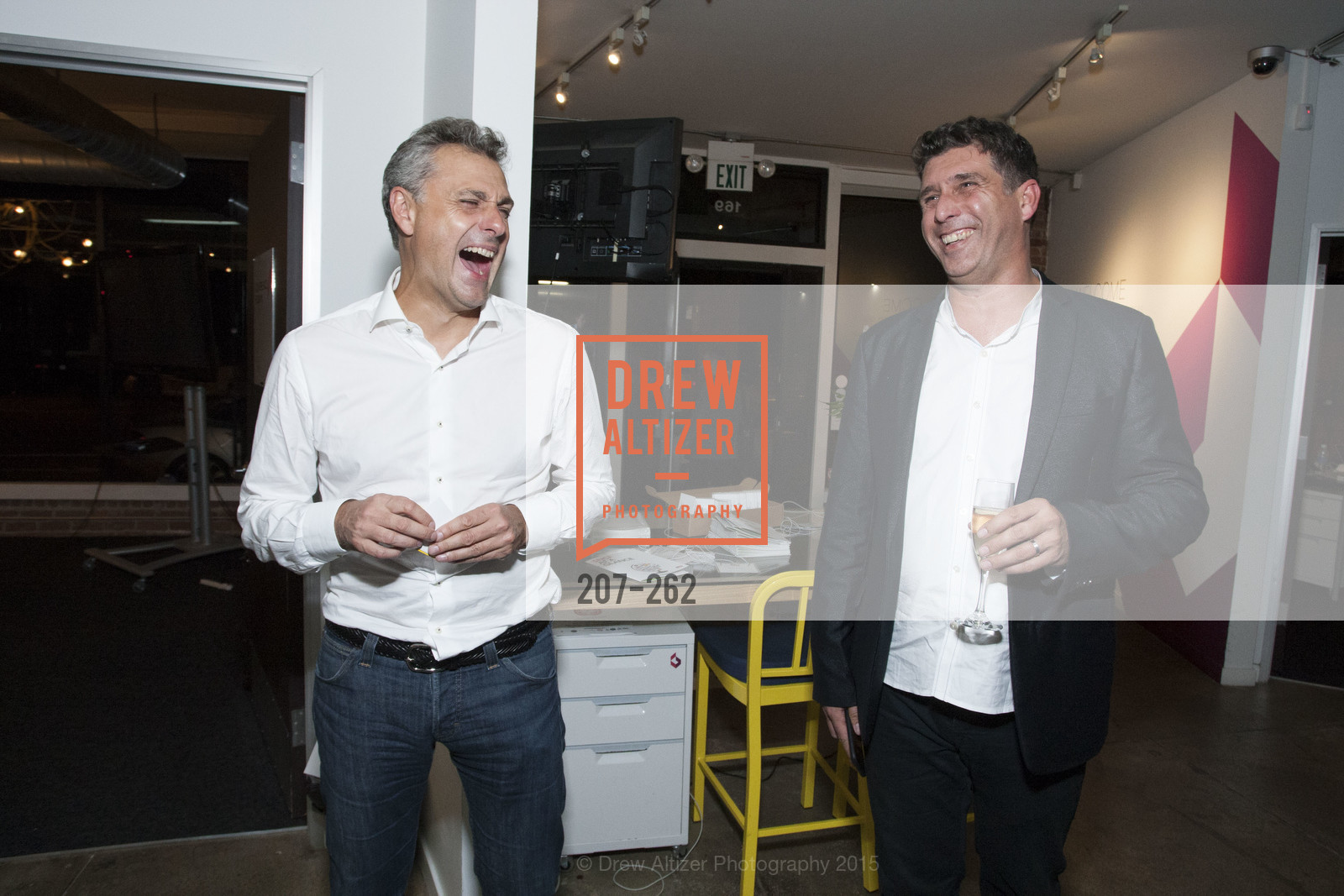 Yves Tyrode, Dominique Piotet, Inauguration of SNCF Innovation Lab, 169 11th St, August 26th, 2015,Drew Altizer, Drew Altizer Photography, full-service agency, private events, San Francisco photographer, photographer california