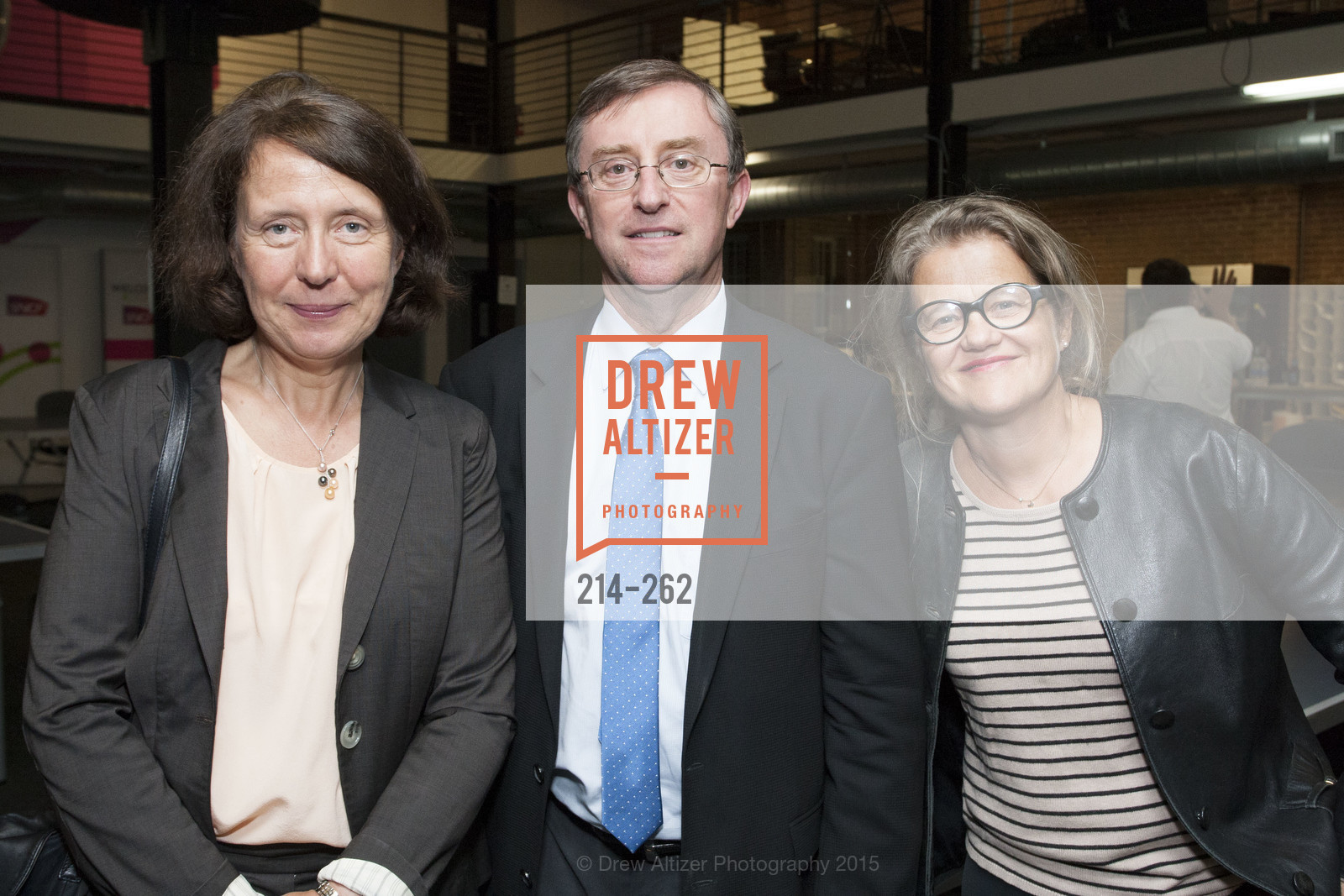 Barbara Dalibard, Pierre Izard, Benedicte Tilloy, Inauguration of SNCF Innovation Lab, 169 11th St, August 26th, 2015,Drew Altizer, Drew Altizer Photography, full-service agency, private events, San Francisco photographer, photographer california