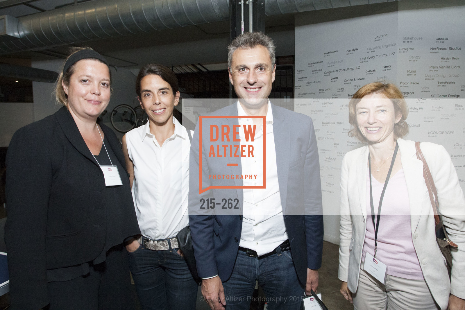 Yseulys Costes, Emmanuelle Turlotte, Yves Tyrode, Florence Parly, Inauguration of SNCF Innovation Lab, 169 11th St, August 26th, 2015,Drew Altizer, Drew Altizer Photography, full-service event agency, private events, San Francisco photographer, photographer California