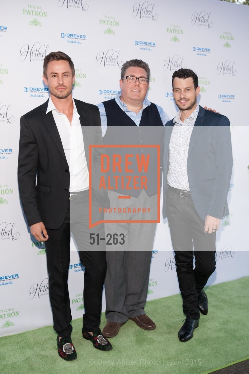 Galen Drever, Clif Loftin, Traver Rains, Drever Family Foundation Presents The 2015 Hotbed Benefit, Private, August 22nd, 2015,Drew Altizer, Drew Altizer Photography, full-service agency, private events, San Francisco photographer, photographer california