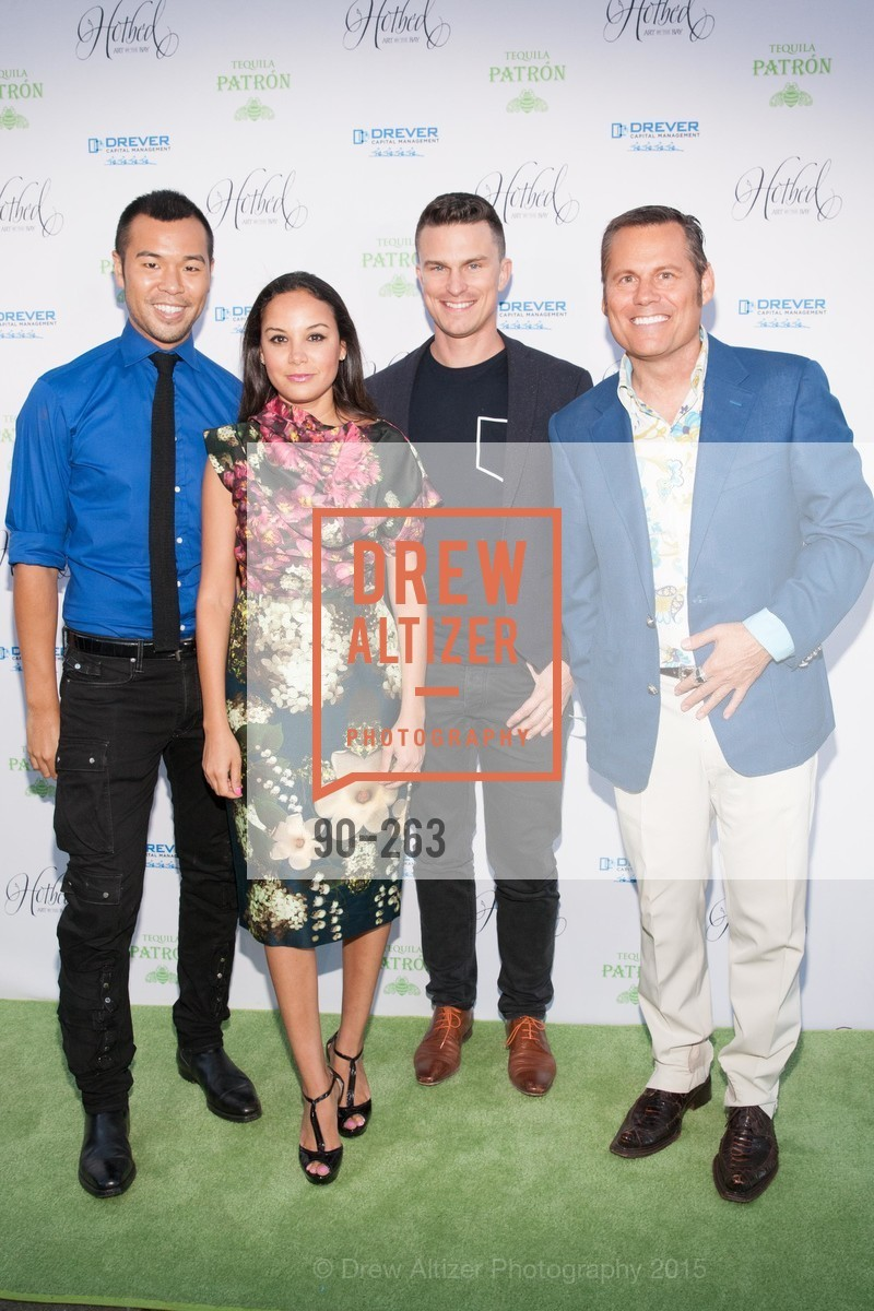 Lance Lin, Bahya Oumil-Murad, Guillaume Coutheillas, Doug Waggener, Drever Family Foundation Presents The 2015 Hotbed Benefit, Private, August 22nd, 2015,Drew Altizer, Drew Altizer Photography, full-service agency, private events, San Francisco photographer, photographer california