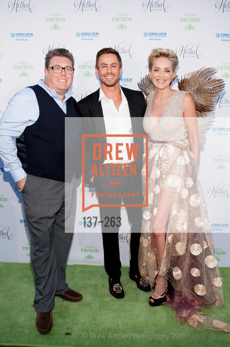 Clif Loftin, Galen Drever, Sharon Stone, Drever Family Foundation Presents The 2015 Hotbed Benefit, Private, August 22nd, 2015,Drew Altizer, Drew Altizer Photography, full-service agency, private events, San Francisco photographer, photographer california