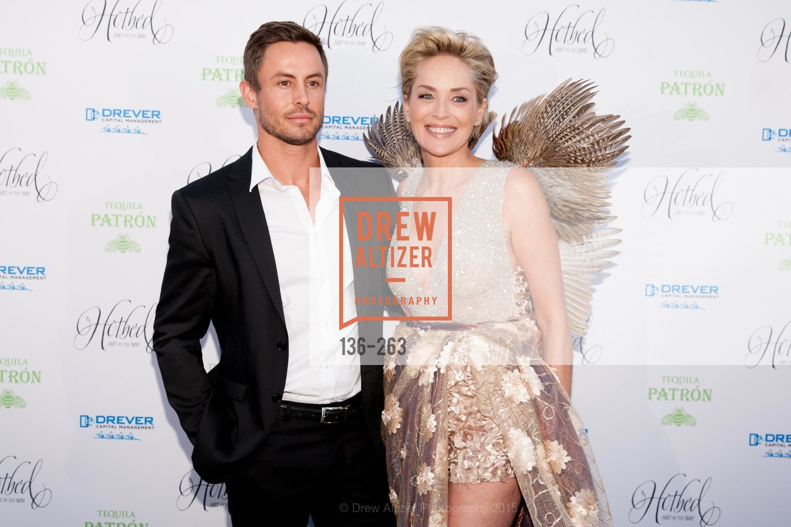 Galen Drever, Sharon Stone, Drever Family Foundation Presents The 2015 Hotbed Benefit, Private, August 22nd, 2015,Drew Altizer, Drew Altizer Photography, full-service agency, private events, San Francisco photographer, photographer california