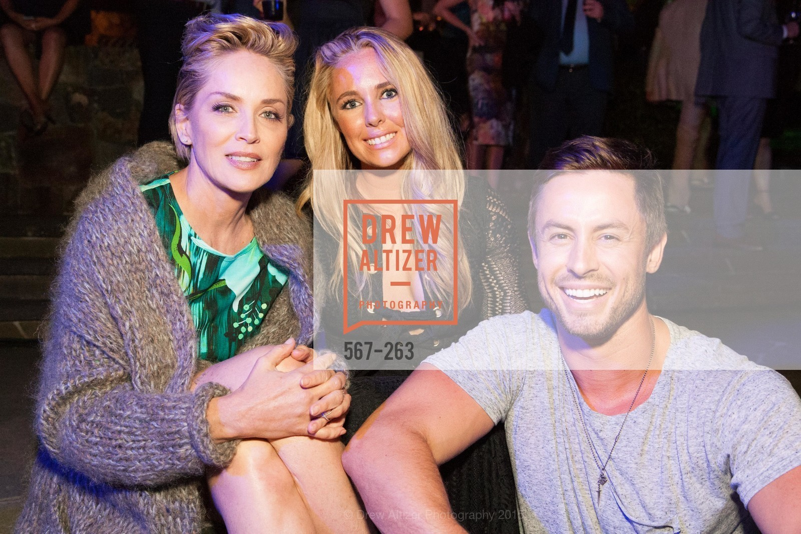 Sharon Stone, Victoria Noyes, Galen Drever, Drever Family Foundation Presents The 2015 Hotbed Benefit, Private, August 22nd, 2015,Drew Altizer, Drew Altizer Photography, full-service agency, private events, San Francisco photographer, photographer california