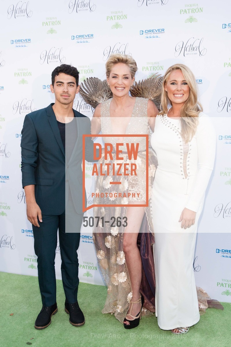 Joe Jonas, Sharon Stone, Victoria Noyes, Drever Family Foundation Presents The 2015 Hotbed Benefit, Private, August 22nd, 2015,Drew Altizer, Drew Altizer Photography, full-service agency, private events, San Francisco photographer, photographer california