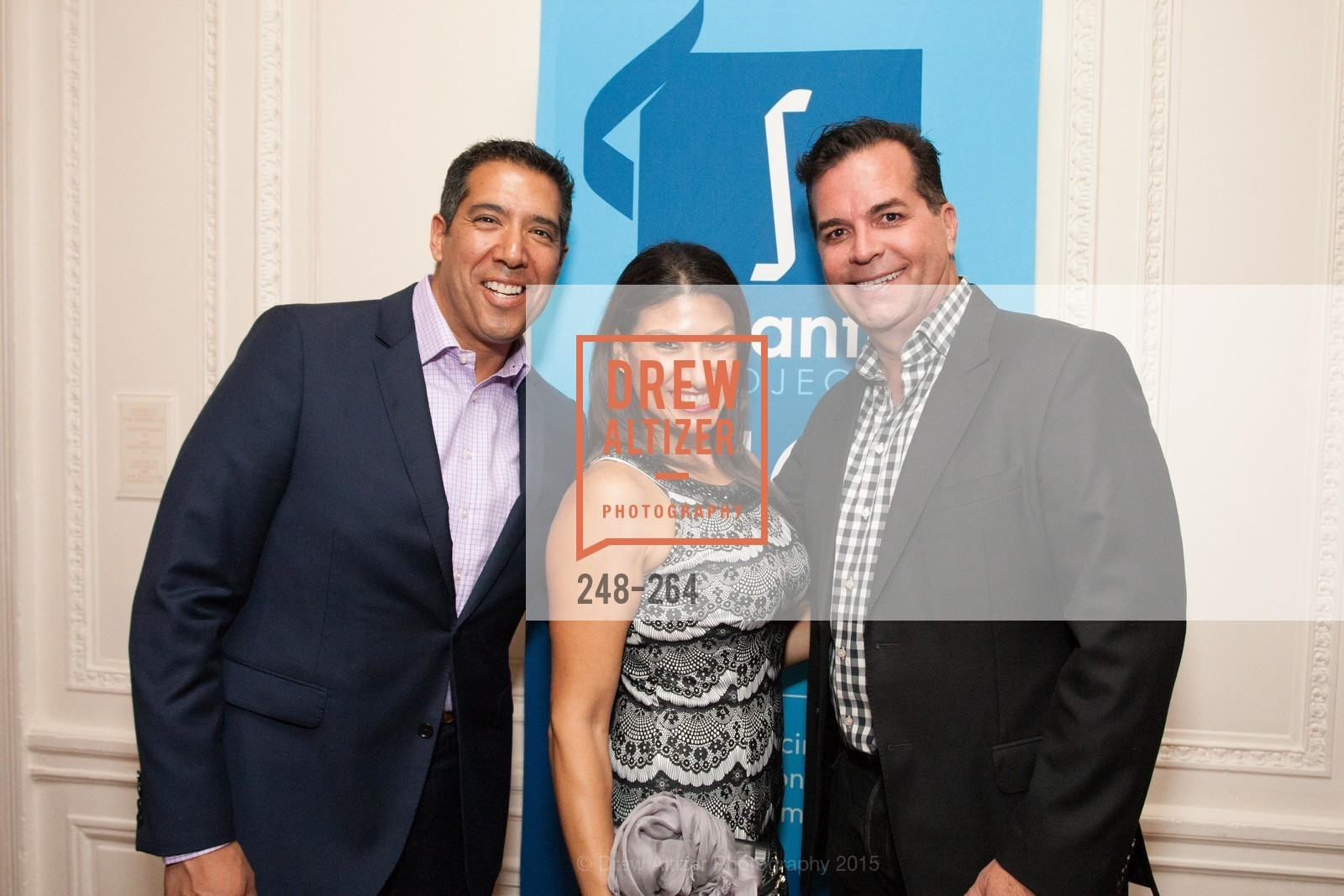 Alex Rivera, Claudia Rivera, Michael Montoya, Shanti's Compassion is Universal 41st Anniversary Preview Reception, Palace Hotel. 2 Montgomery Street, August 25th, 2015,Drew Altizer, Drew Altizer Photography, full-service agency, private events, San Francisco photographer, photographer california