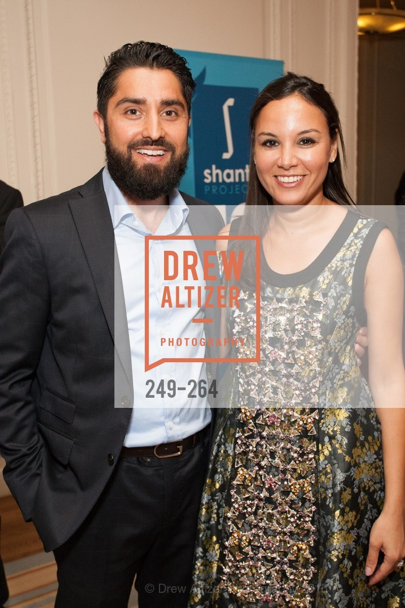 Roh Habibi, Bahya Oumil-Murad, Shanti's Compassion is Universal 41st Anniversary Preview Reception, Palace Hotel. 2 Montgomery Street, August 25th, 2015,Drew Altizer, Drew Altizer Photography, full-service event agency, private events, San Francisco photographer, photographer California