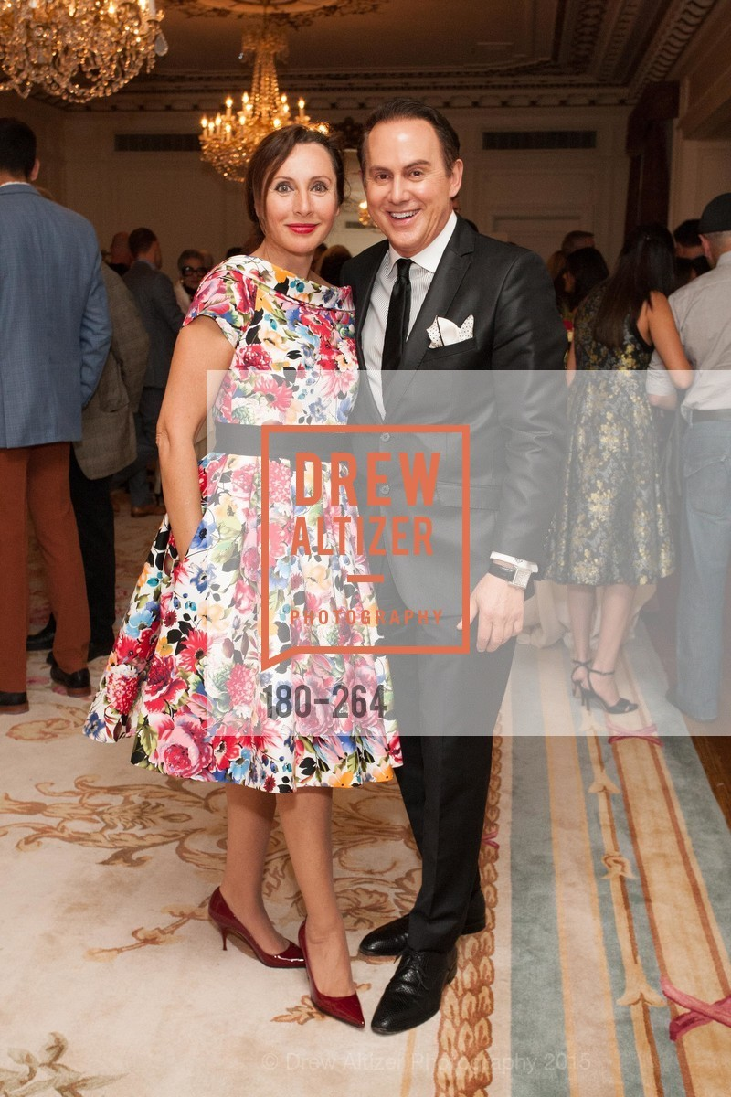 Clara Shayevich, Joel Goodrich, Shanti's Compassion is Universal 41st Anniversary Preview Reception, Palace Hotel. 2 Montgomery Street, August 25th, 2015