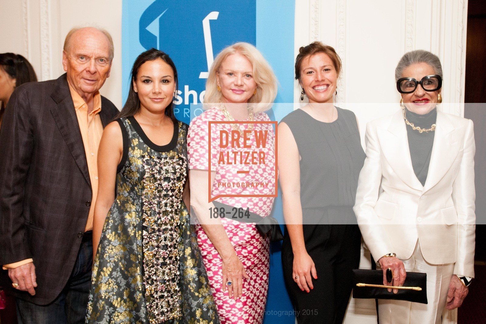 David Pace, Bahya Oumil-Murad, Heide Betz, Lauren Villa, Joy Venturini Bianchi, Shanti's Compassion is Universal 41st Anniversary Preview Reception, Palace Hotel. 2 Montgomery Street, August 25th, 2015,Drew Altizer, Drew Altizer Photography, full-service agency, private events, San Francisco photographer, photographer california