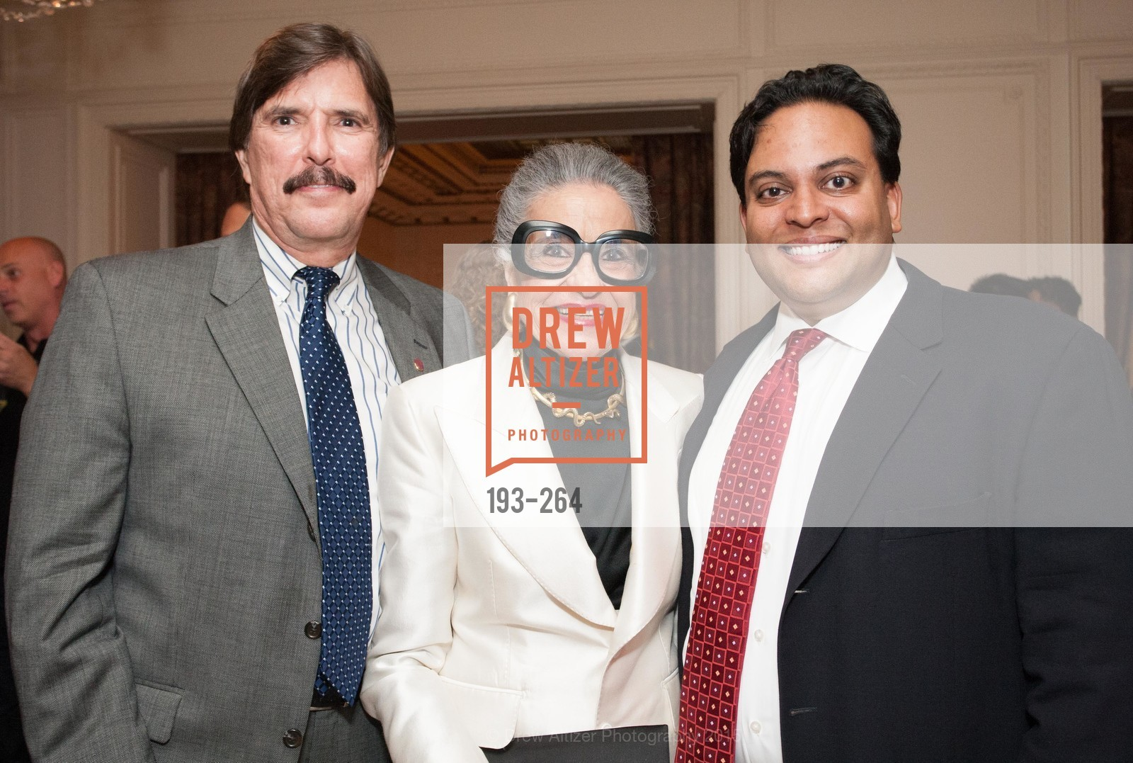 John Rosin, Joy Venturini Bianchi, Kaushik Roy, Shanti's Compassion is Universal 41st Anniversary Preview Reception, Palace Hotel. 2 Montgomery Street, August 25th, 2015,Drew Altizer, Drew Altizer Photography, full-service agency, private events, San Francisco photographer, photographer california