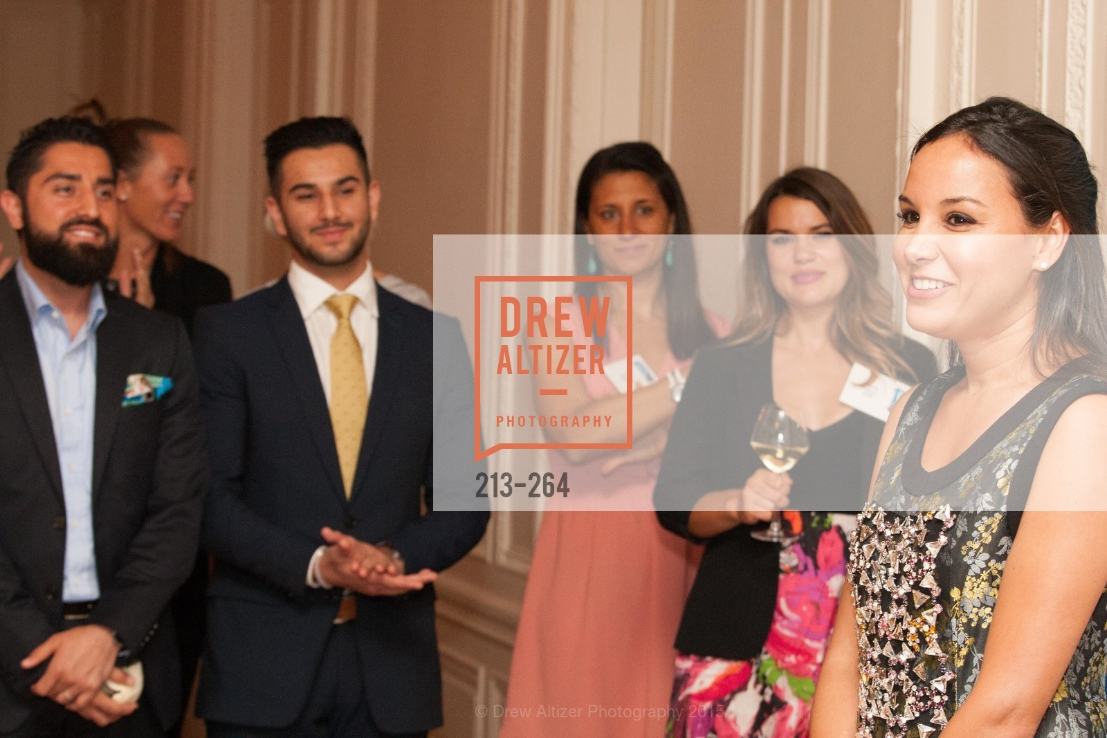 Bahya Oumil-Murad, Shanti's Compassion is Universal 41st Anniversary Preview Reception, Palace Hotel. 2 Montgomery Street, August 25th, 2015,Drew Altizer, Drew Altizer Photography, full-service event agency, private events, San Francisco photographer, photographer California