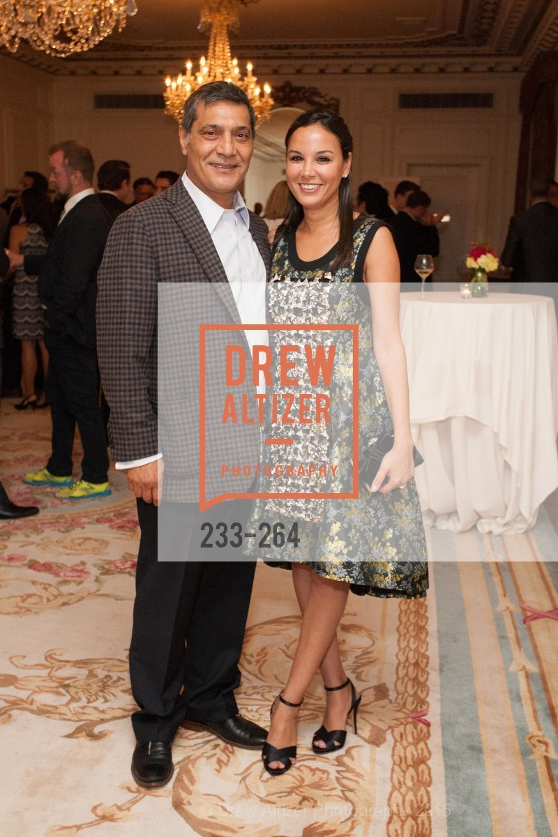 Gus Murad, Bahya Oumil-Murad, Shanti's Compassion is Universal 41st Anniversary Preview Reception, Palace Hotel. 2 Montgomery Street, August 25th, 2015,Drew Altizer, Drew Altizer Photography, full-service agency, private events, San Francisco photographer, photographer california