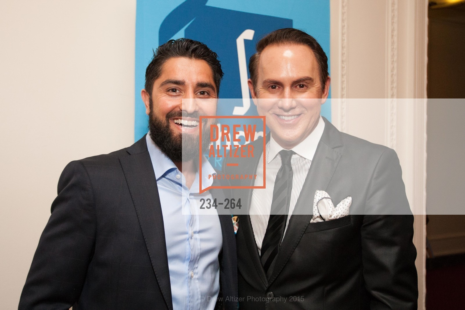 Roh Habibi, Joel Goodrich, Shanti's Compassion is Universal 41st Anniversary Preview Reception, Palace Hotel. 2 Montgomery Street, August 25th, 2015,Drew Altizer, Drew Altizer Photography, full-service agency, private events, San Francisco photographer, photographer california