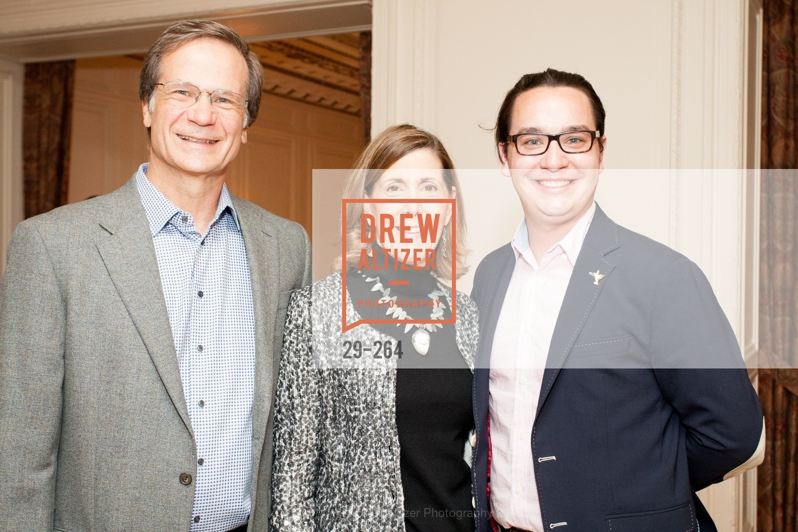 Joe Iacocca, Micki Klearman, Christopher Wiseman, Shanti's Compassion is Universal 41st Anniversary Preview Reception, Palace Hotel. 2 Montgomery Street, August 25th, 2015,Drew Altizer, Drew Altizer Photography, full-service agency, private events, San Francisco photographer, photographer california