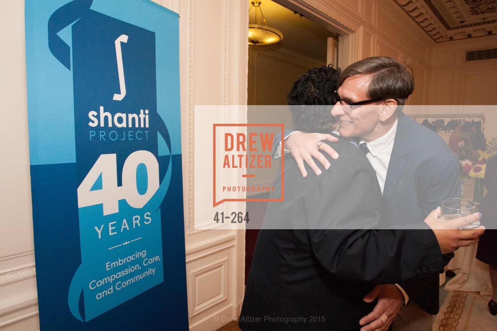 Valentin Aguirre, Chip Supanich, Shanti's Compassion is Universal 41st Anniversary Preview Reception, Palace Hotel. 2 Montgomery Street, August 25th, 2015,Drew Altizer, Drew Altizer Photography, full-service agency, private events, San Francisco photographer, photographer california