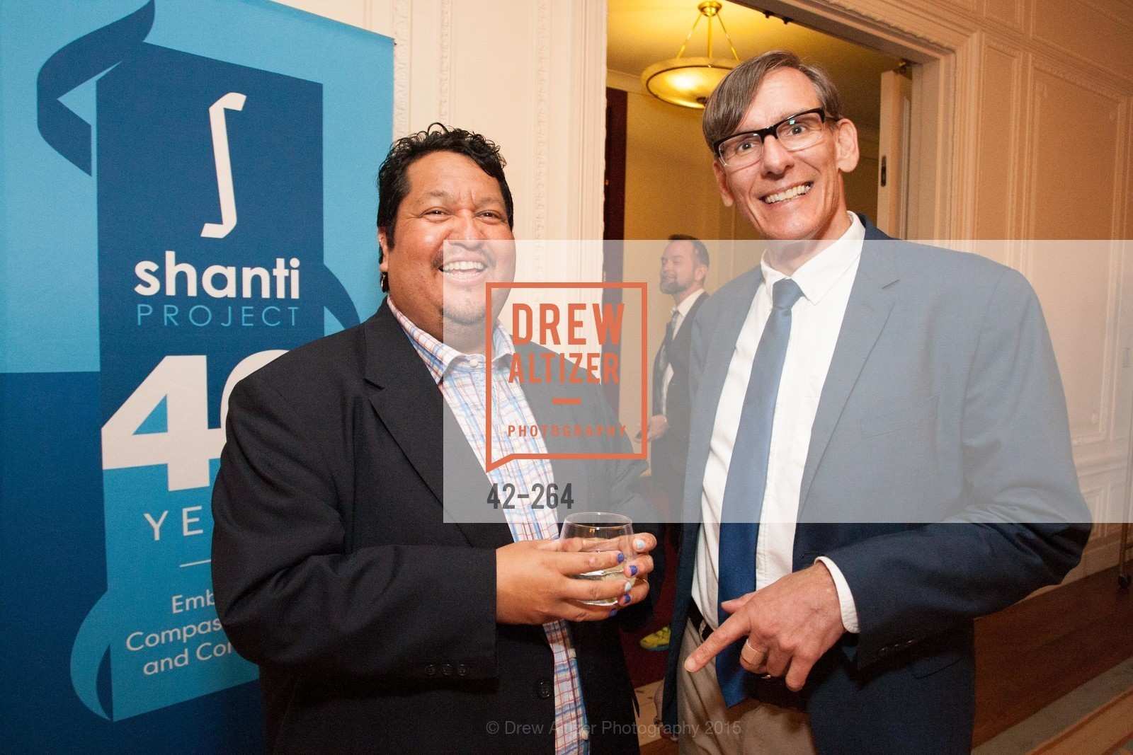 Valentin Aguirre, Chip Supanich, Shanti's Compassion is Universal 41st Anniversary Preview Reception, Palace Hotel. 2 Montgomery Street, August 25th, 2015,Drew Altizer, Drew Altizer Photography, full-service event agency, private events, San Francisco photographer, photographer California