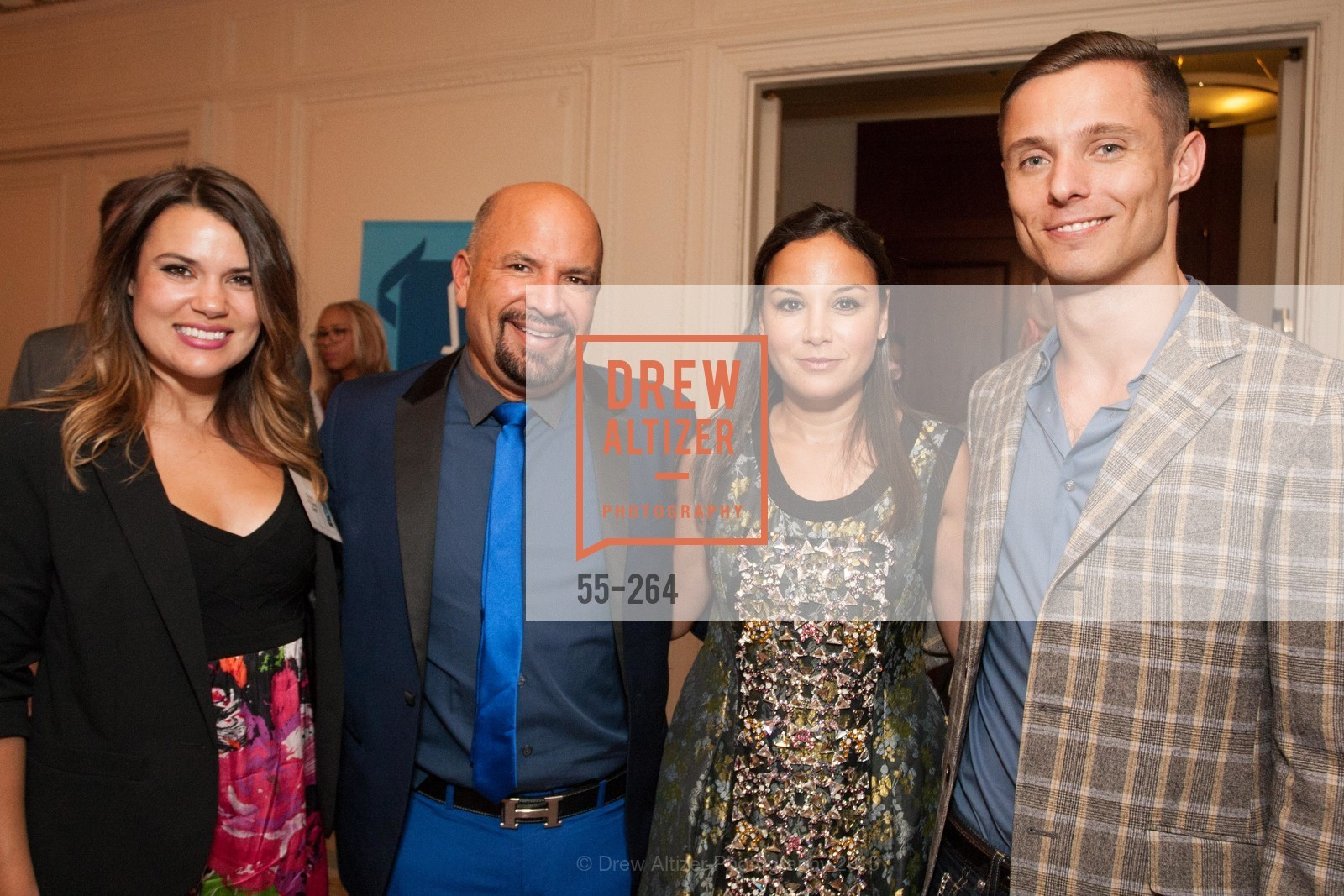 Melody Bartholomew, Ted Hannig, Bahya Oumil-Murad, Charlie Smith, Shanti's Compassion is Universal 41st Anniversary Preview Reception, Palace Hotel. 2 Montgomery Street, August 25th, 2015,Drew Altizer, Drew Altizer Photography, full-service agency, private events, San Francisco photographer, photographer california