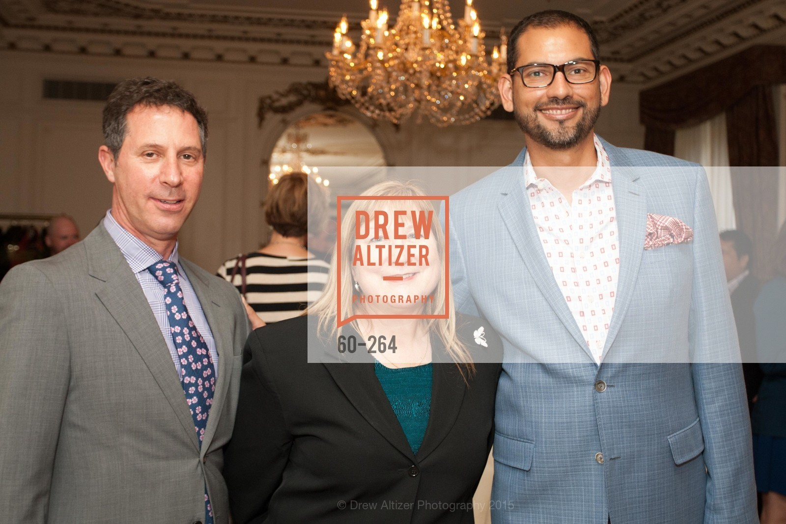 Seth Scullman, Veronica Labeau, Ernesto Quintanilla, Shanti's Compassion is Universal 41st Anniversary Preview Reception, Palace Hotel. 2 Montgomery Street, August 25th, 2015,Drew Altizer, Drew Altizer Photography, full-service agency, private events, San Francisco photographer, photographer california