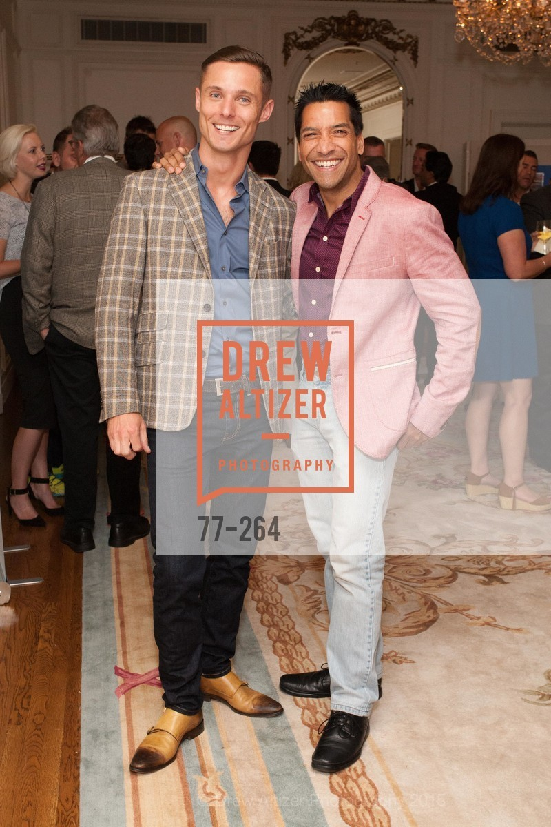 Charlie Smith, Arun Apte, Shanti's Compassion is Universal 41st Anniversary Preview Reception, Palace Hotel. 2 Montgomery Street, August 25th, 2015,Drew Altizer, Drew Altizer Photography, full-service agency, private events, San Francisco photographer, photographer california