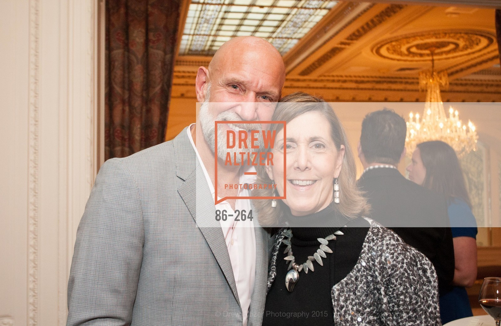 Frank Pettkovich, Micki Klearman, Shanti's Compassion is Universal 41st Anniversary Preview Reception, Palace Hotel. 2 Montgomery Street, August 25th, 2015,Drew Altizer, Drew Altizer Photography, full-service agency, private events, San Francisco photographer, photographer california